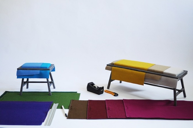mischertraxler kvadrat makingof models Framed by mischertraxler in THISISPAPER MAGAZINE
