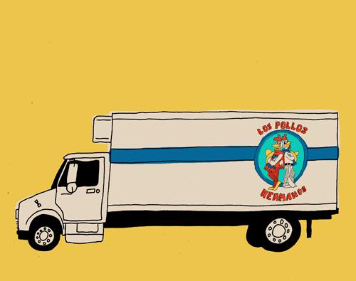 Breaking Bad Los Pollos - Marz jr.