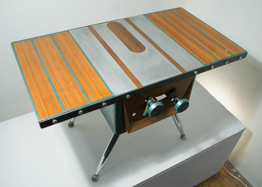 Repurposed Tables Roland Blandy